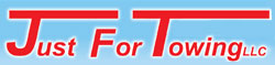 JUST FOR TOWING Logo
