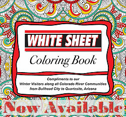 The 2018 Lake Havasu Coloring book is now Available