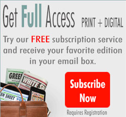 Have your Favorite Editions emailed directly to you FREE!
